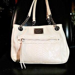 Nicole Miller Ivory Bag